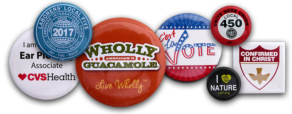 Celluloid Campaign Buttons
